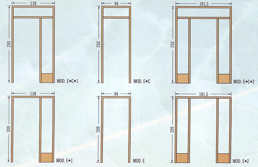 Marcos para puertas de madera precios materiales de for Cuanto cuesta una puerta de madera